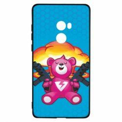 Чехол для Xiaomi Mi Mix 2 Fortnite pink bear - FatLine