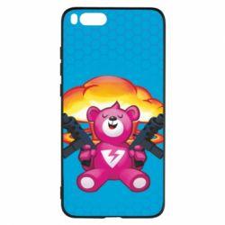 Чехол для Xiaomi Mi Note 3 Fortnite pink bear - FatLine