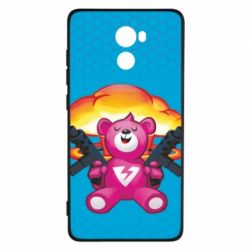 Чехол для Xiaomi Redmi 4 Fortnite pink bear - FatLine