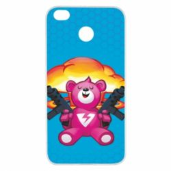 Чехол для Xiaomi Redmi 4x Fortnite pink bear - FatLine