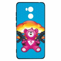 Чехол для Xiaomi Redmi 4 Pro/Prime Fortnite pink bear - FatLine