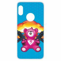 Чехол для Xiaomi Redmi Note 5 Fortnite pink bear - FatLine