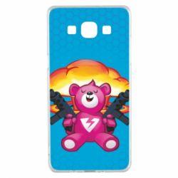 Чехол для Samsung A5 2015 Fortnite pink bear - FatLine