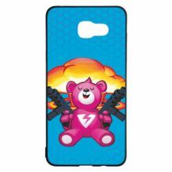 Чехол для Samsung A5 2016 Fortnite pink bear - FatLine