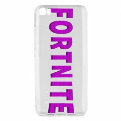 Чехол для Xiaomi Mi5/Mi5 Pro Fortnite purple logo text