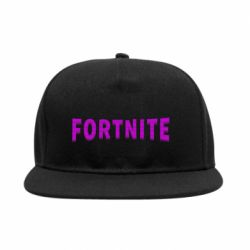Снепбек Fortnite purple logo text
