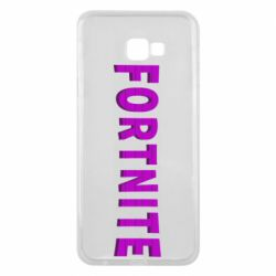 Чохол для Samsung J4 Plus 2018 Fortnite purple logo text