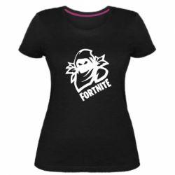 Жіноча стрейчева футболка Fortnite raven circuit