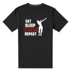 Чоловіча стрейчева футболка Fortnite repeat dab