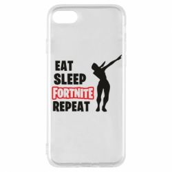 Чохол для iPhone 8 Fortnite repeat dab