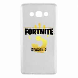 Чехол для Samsung A7 2015 Fortnite season 2 gold