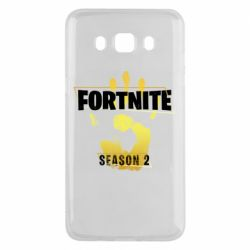 Чехол для Samsung J5 2016 Fortnite season 2 gold