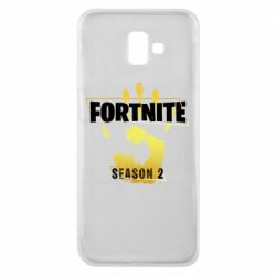 Чехол для Samsung J6 Plus 2018 Fortnite season 2 gold