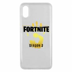 Чехол для Xiaomi Mi8 Pro Fortnite season 2 gold