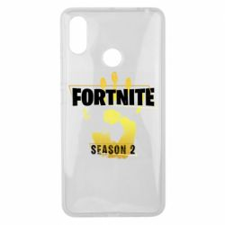 Чехол для Xiaomi Mi Max 3 Fortnite season 2 gold