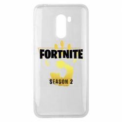 Чехол для Xiaomi Pocophone F1 Fortnite season 2 gold