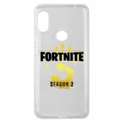 Чехол для Xiaomi Redmi Note 6 Pro Fortnite season 2 gold