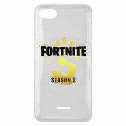 Чехол для Xiaomi Redmi 6A Fortnite season 2 gold