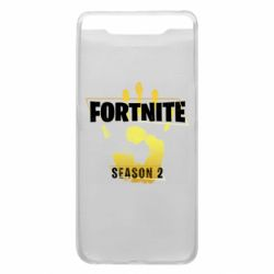 Чехол для Samsung A80 Fortnite season 2 gold