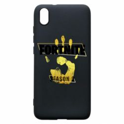 Чехол для Xiaomi Redmi 7A Fortnite season 2 gold