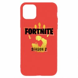 Чехол для iPhone 11 Fortnite season 2 gold