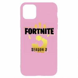 Чехол для iPhone 11 Pro Fortnite season 2 gold