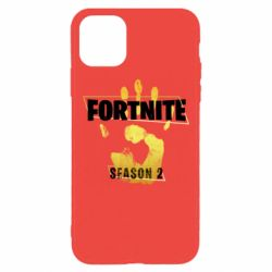 Чехол для iPhone 11 Pro Max Fortnite season 2 gold