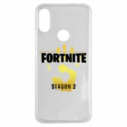 Чехол для Xiaomi Redmi Note 7 Fortnite season 2 gold