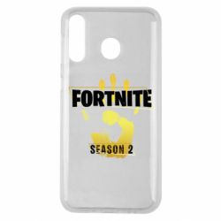 Чехол для Samsung M30 Fortnite season 2 gold