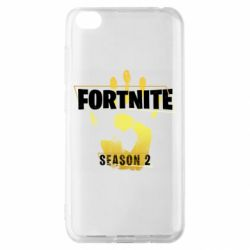 Чехол для Xiaomi Redmi Go Fortnite season 2 gold