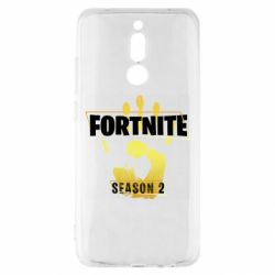 Чехол для Xiaomi Redmi 8 Fortnite season 2 gold