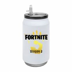 Термобанка 350ml Fortnite season 2 gold