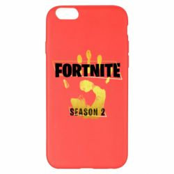 Чехол для iPhone 6 Plus/6S Plus Fortnite season 2 gold