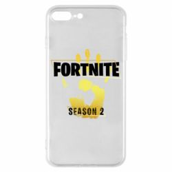 Чехол для iPhone 8 Plus Fortnite season 2 gold