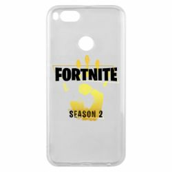Чехол для Xiaomi Mi A1 Fortnite season 2 gold