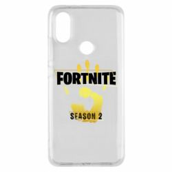 Чехол для Xiaomi Mi A2 Fortnite season 2 gold
