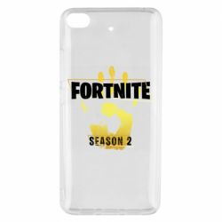 Чехол для Xiaomi Mi 5s Fortnite season 2 gold