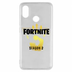 Чехол для Xiaomi Mi8 Fortnite season 2 gold