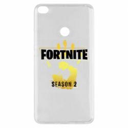 Чехол для Xiaomi Mi Max 2 Fortnite season 2 gold