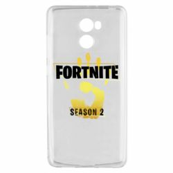 Чехол для Xiaomi Redmi 4 Fortnite season 2 gold