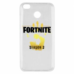 Чехол для Xiaomi Redmi 4x Fortnite season 2 gold