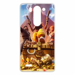 Чехол для LG G3 mini/G3s Fortnite season 8 - FatLine
