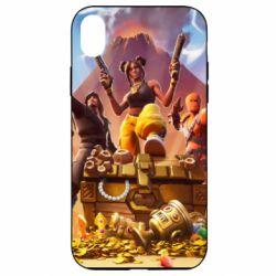 Чехол для iPhone XR Fortnite season 8 - FatLine