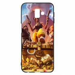 Чехол для Samsung J6 Plus 2018 Fortnite season 8 - FatLine