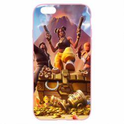 Чехол для iPhone 6/6S Fortnite season 8 - FatLine