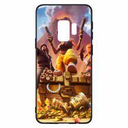 Чехол для Samsung S9 Fortnite season 8 - FatLine
