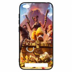 Чехол для Xiaomi Redmi 5A Fortnite season 8 - FatLine