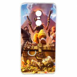 Чехол для Xiaomi Redmi Note 4 Fortnite season 8 - FatLine