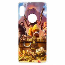 Чехол для Xiaomi Redmi Note 5 Fortnite season 8 - FatLine