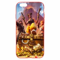 Чехол для iPhone 6 Plus/6S Plus Fortnite season 8 - FatLine